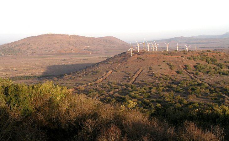 הר בני רסן – טורבינות הרוח