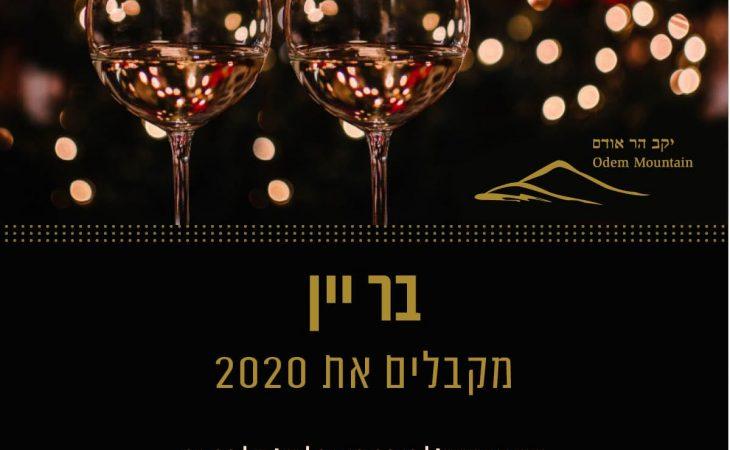 בר יין מקבלים את 2020 | 31.12.19