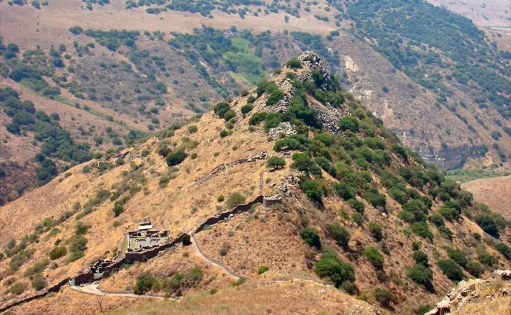 הנוף הטבעי של רמת הגולן – לגעת בטבע